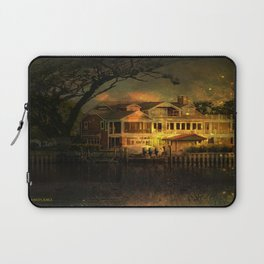 Spooky Boathouse Laptop Sleeve