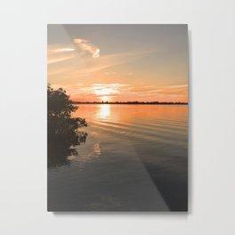 Sunset in the Keys Metal Print