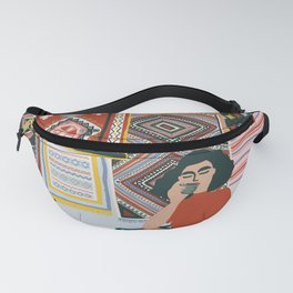 Moroccan carpets Fanny Pack