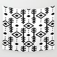 nordic Wall Tapestries featuring NORDIC by Nika