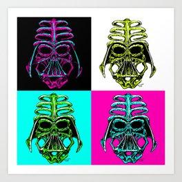 Evil Skulls Art Print