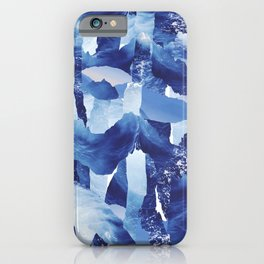 Nautical abstract pattern iPhone Case