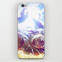 goku iPhone & iPod Skins featuring Goku by MATT DEMINO