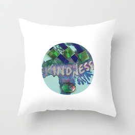 Kindness Charm Throw Pillow