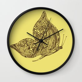 Fly By Wall Clock
