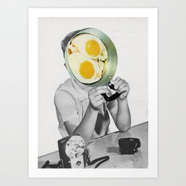 Goodmorning Art Print