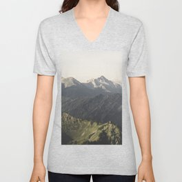 Wild Hearts - Landscape Photography Unisex V-Neck