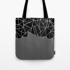 Ab Lines Black Tote Bag