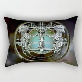 """Astrological Mechanism - Gemini"" Rectangular Pillow"