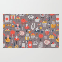 Big top treats. Funny Circus Rug