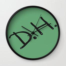 Senior Scribe DH  Wall Clock