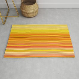 50 Shades of YELLOW - Living Hell Rug