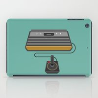 gaming iPad Cases featuring Retro Gaming - Atari by minemine