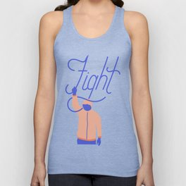 Fight Unisex Tank Top
