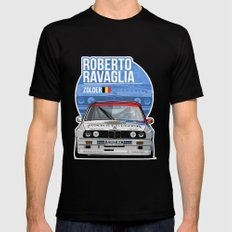 Roberto Ravaglia - 1989 Zolder Mens Fitted Tee MEDIUM Black