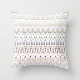 Coral Indonesia Throw Pillow