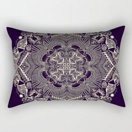 Mandala 3 (Dark) Rectangular Pillow