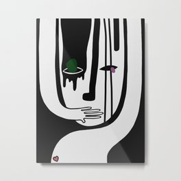 UNDERCOVER Metal Print
