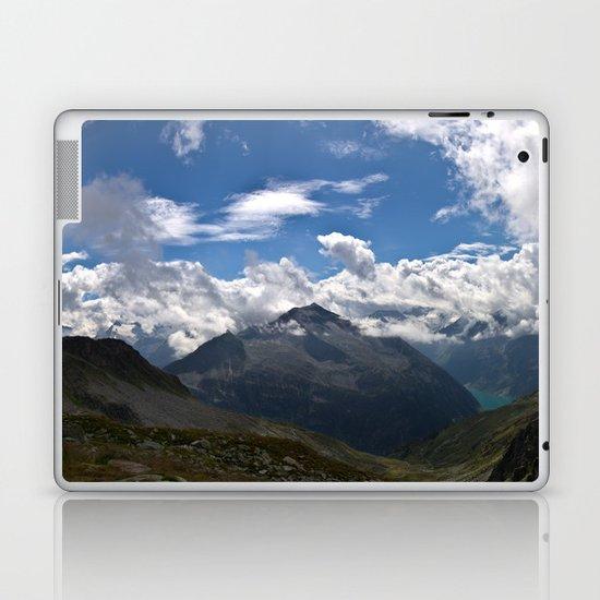 Schlegeis, Austria | Panorama Laptop & iPad Skin