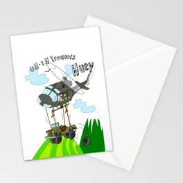 UH-1H Huey Helicopter Stationery Cards