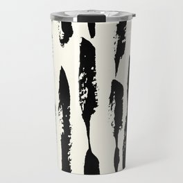 Tribal Paint Stripes Travel Mug