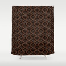 Tribal Pattern 1-1 Shower Curtain