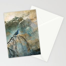 HEAVENLY BIRD II Stationery Cards