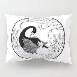 Black Swan and Moonlark Pillow Sham