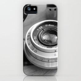 Accessories from old film cameras. iPhone Case