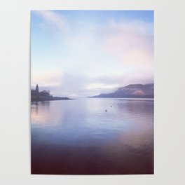Serenity on the Loch Poster