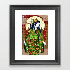 Merry Xmas! Framed Art Print