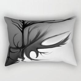 The Double Edged Tree I Rectangular Pillow