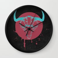 beast Wall Clocks featuring Beast by Last Call