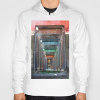 window Hoodies featuring window by Ajinkya Pawar