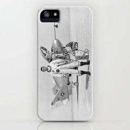X-24A on Lakebed iPhone Case