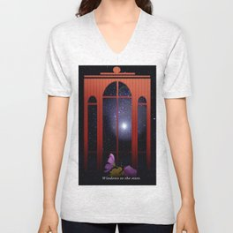 Windows to the stars. Unisex V-Neck