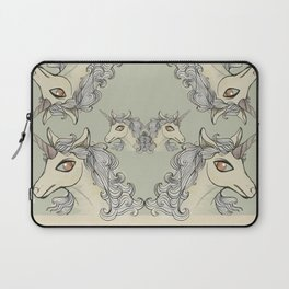 Lady Unicorn. Laptop Sleeve