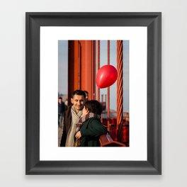 Balloon Love Framed Art Print