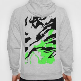 Green and Black Hoody