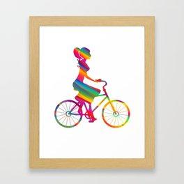 Cycling 239 Framed Art Print