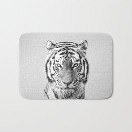 Tiger - Black & White Bath Mat