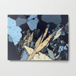 Graphic minerals Metal Print