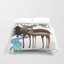 Father & Daughter Duvet Cover