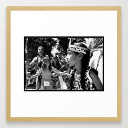 Little Jaguar Danzante Framed Art Print