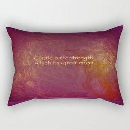 Be Gentle Rectangular Pillow