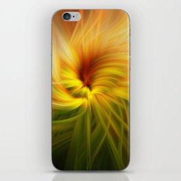 Sunflowers Twirled iPhone Skin