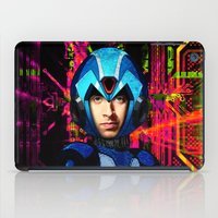 megaman iPad Cases featuring Megaman wolowitz by seb mcnulty