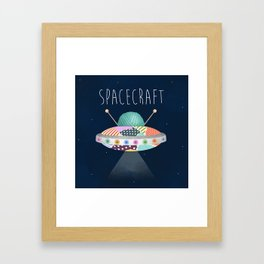 Spacecraft Framed Art Print