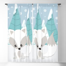 ARCTIC LANDSCAPE Blackout Curtain