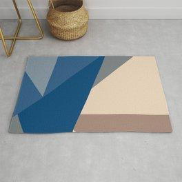 Escalonated Triangles Rug